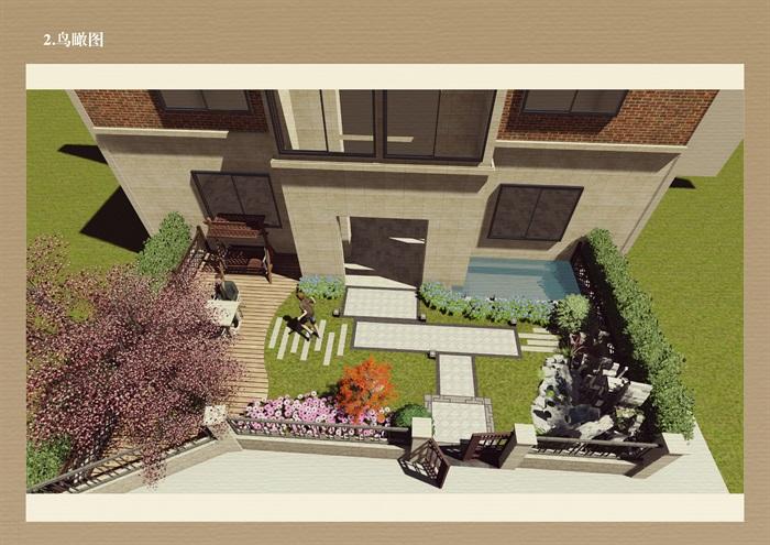 别墅庭院景观详细su模型2017版本,模型有材质贴图,制作详细独特精致完整,具有很好的使用价值,欢迎下载使用。