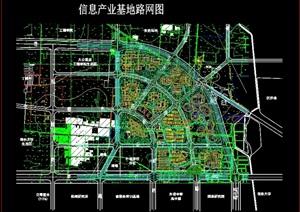 郑州某信息产业基地设计cad方案