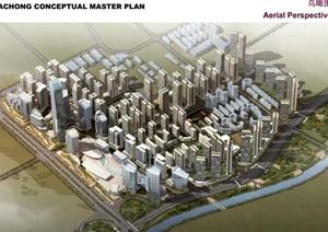 某城市大冲概念性总体规划设计pdf方案