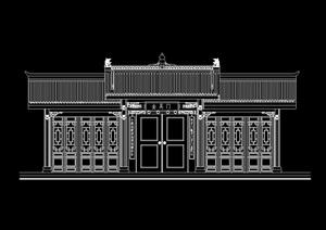 民居门设计cad方案