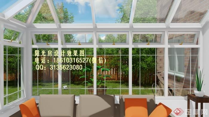 d1400爱德华阳光房设计效果图(幅)