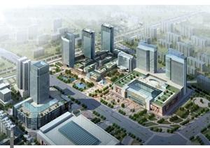 某核心区扬州商城商圈规划设计jpg方案