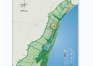 某市北戴河新区总体规划jpg方案
