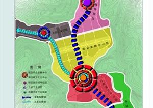 学生作业——乡镇总体规划设计方案