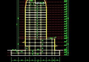 高级写字楼建筑图