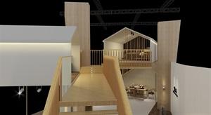HO.M.B工作室 芦泓博新作—— 林中小屋   展示空间设计