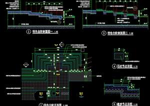 特色台阶详细设计cad施工详图