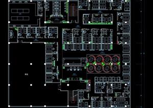 某现代咖啡店装修CAD施工图