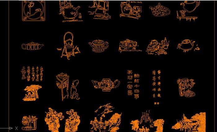 中式傳統紋樣CAD(7)