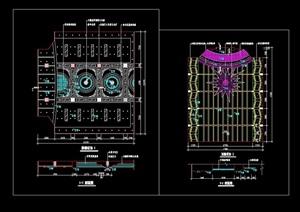 某详细的住宅室内CAD节点详图