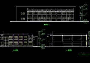 食堂建筑设计图cad方案图