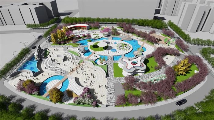 学生作业--校园小广场设计方案pdf文本