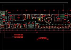 咖啡厅完室内设计cad整施工图