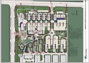 上海普天工业园建筑设计pdf方案