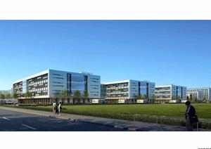 南瑞继保产业园详细建筑景观设计jpg方案