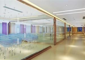 医院休闲区、书吧、婴儿区设计SU(草图大师)模型