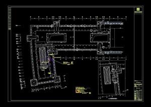 阳光保险办公室设计cad方案