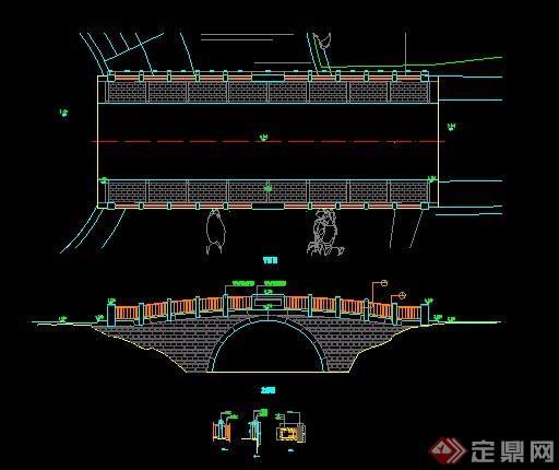 园桥设计方案图纸[原创]