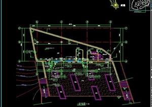 简约会所建筑设计图纸