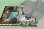 别墅现代园林 (1)