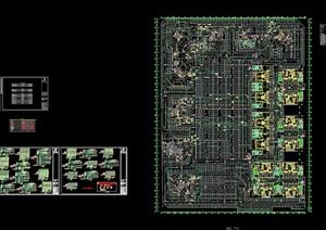 某现代风格地下室详细的设计cad电报建图