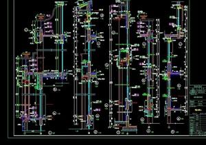 某欧式详细的建筑构件cad大样图