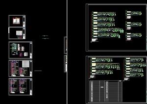 住宅建筑配电系统设计cad方案