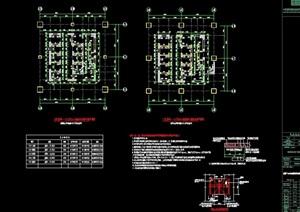 某商业综合体结构设计cad方案