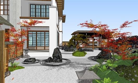 别墅日式园林