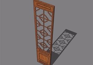 65种中式门窗设计SU(草图大师)合集