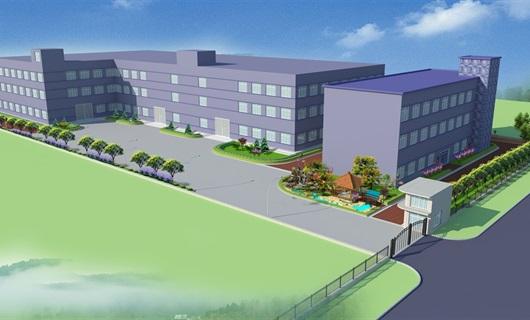 厂区景观绿化cad施工图+sketchup模型+psd效果图