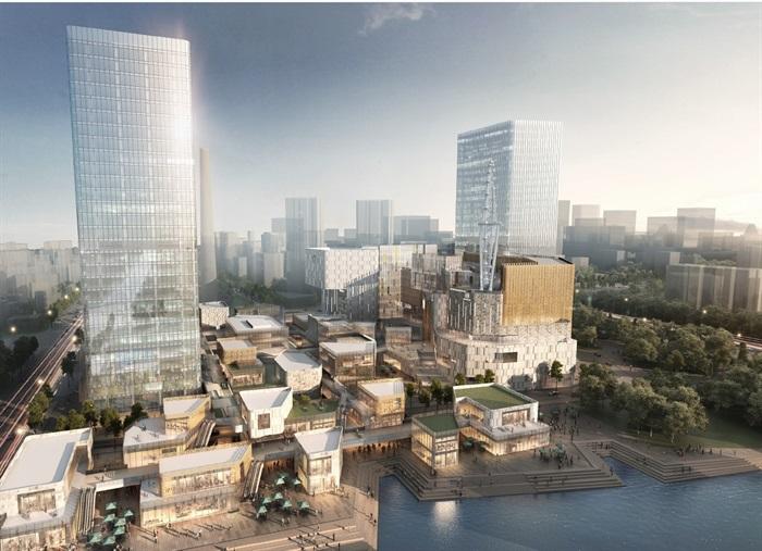 杭州大悦城商业综合体建筑设计方案高清文本(2)