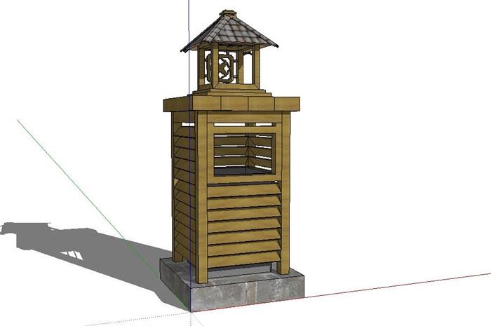 中式特色公共垃圾箱设计(25款)(2)