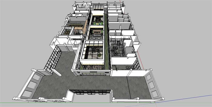 工业风特色loft创客交互办公中心(1)