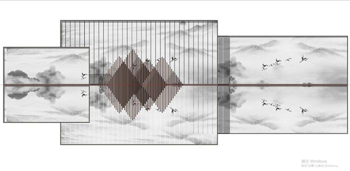 现代典雅山石片岩山水景墙(50款)(2)