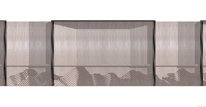 现代典雅山石片岩山水景墙(50款)(6)
