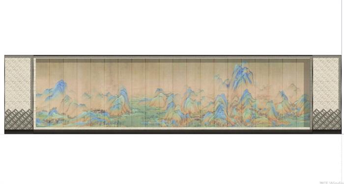 现代典雅山石片岩山水景墙(50款)(7)
