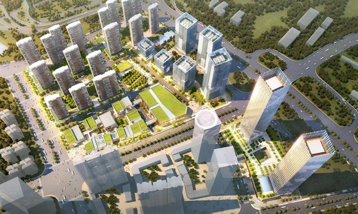 某商业综合体超高层办公楼高层酒店公寓su(1)