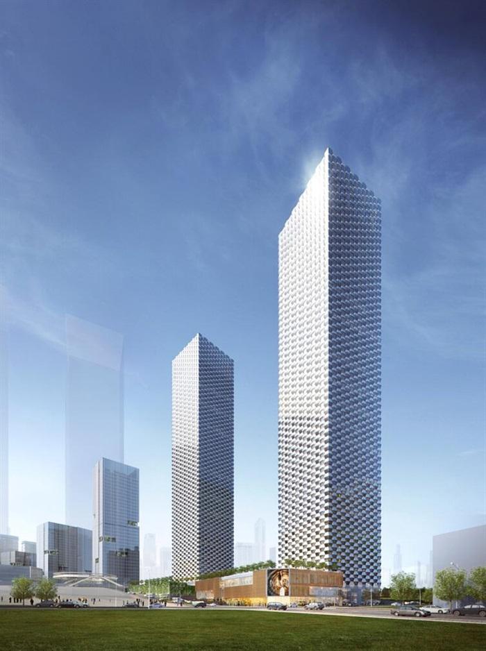 某商业综合体超高层办公楼高层酒店公寓su(3)