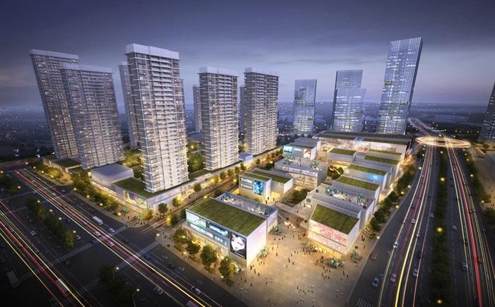 某商业综合体超高层办公楼高层酒店公寓su(4)