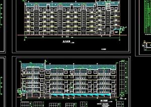 新民花园住宅楼建筑设计cad方案