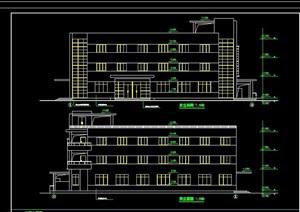 南方宿舍楼多层建筑设计cad方案