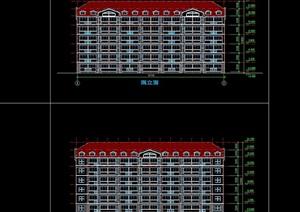 某高校宿舍建筑cad方案