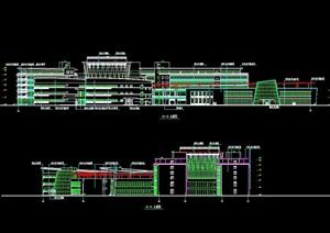 某大型生活小区多层详细的住宅楼设计cad方案