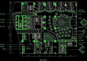 歌舞厅室内设计cad方案图