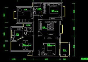 三室两厅室内装修方案