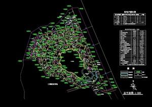 山地住宅小区设计cad方案