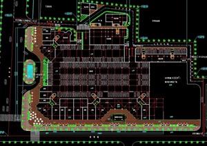 某小区住宅建筑设计cad平面方案
