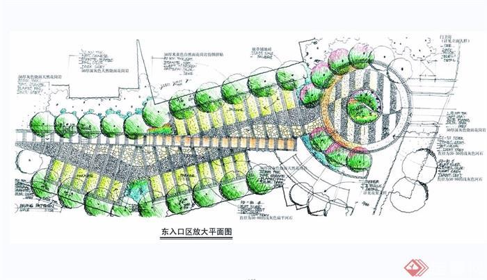 住宅小区规划设计jpg手绘图[原创]