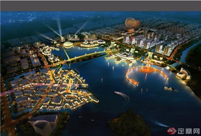 杭州湾国际商务休闲城市设计pdf方案[原创]